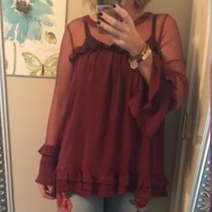 NEW Maroon Easel Top